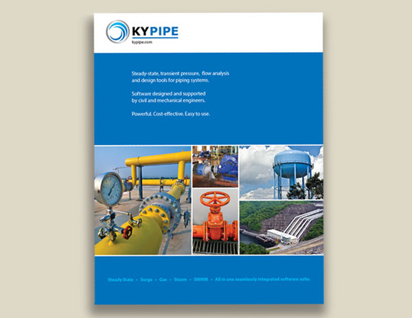 KYPipe product catalog design