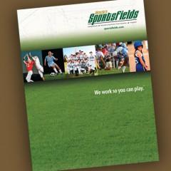 Sportsfields brochure design