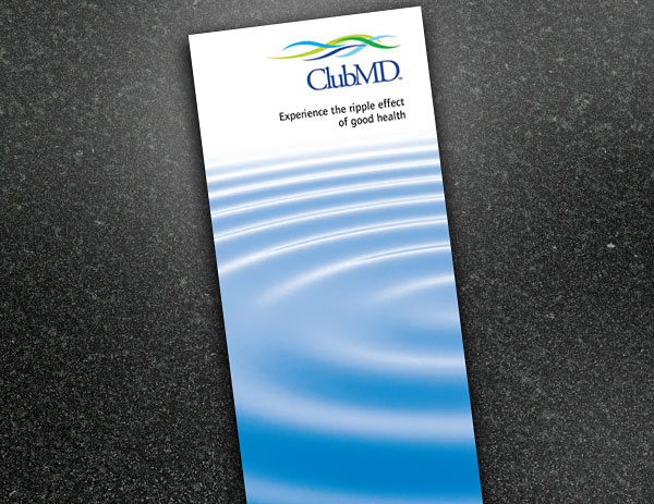 Club MD brochure design