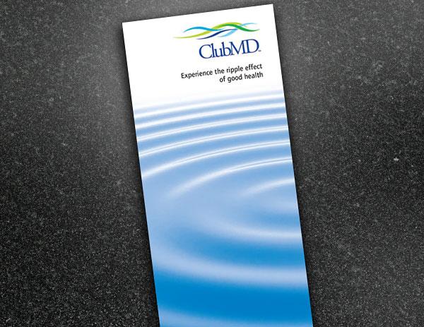 Club MD brochure design