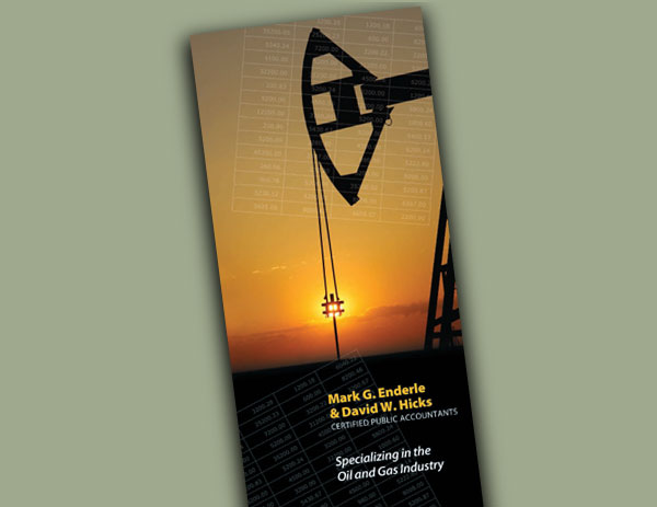Enderle & Hicks brochure design