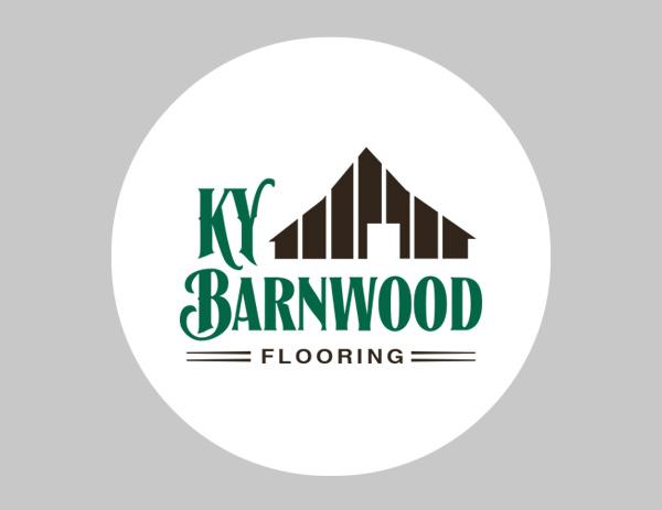 KY Barnwood logo design