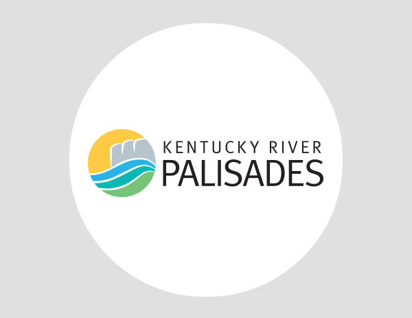 Kentucky River Palisades logo design