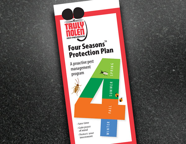 Truly Nolen Four Seasons™ brochure design