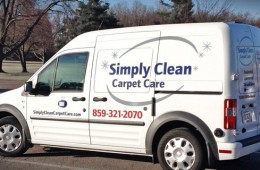 Simply Clean vehicle wrap