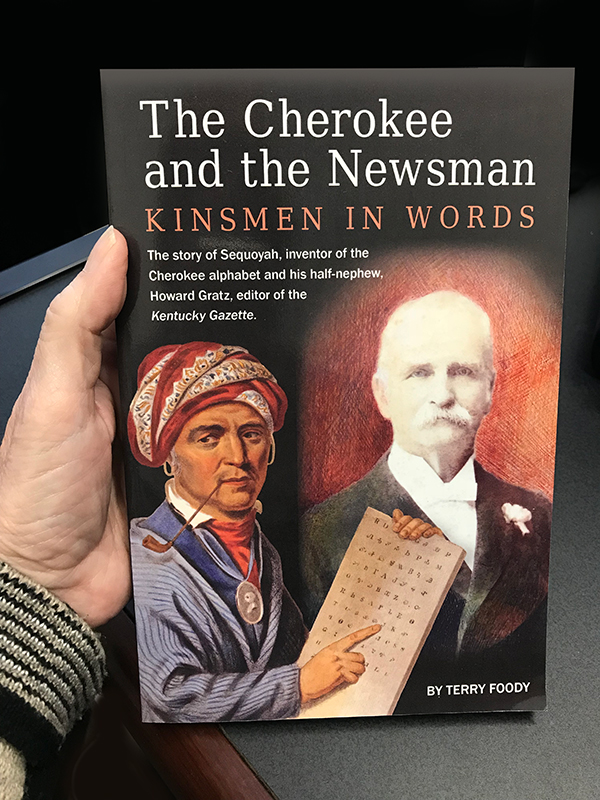 The Cherokee and the Newsman front cover