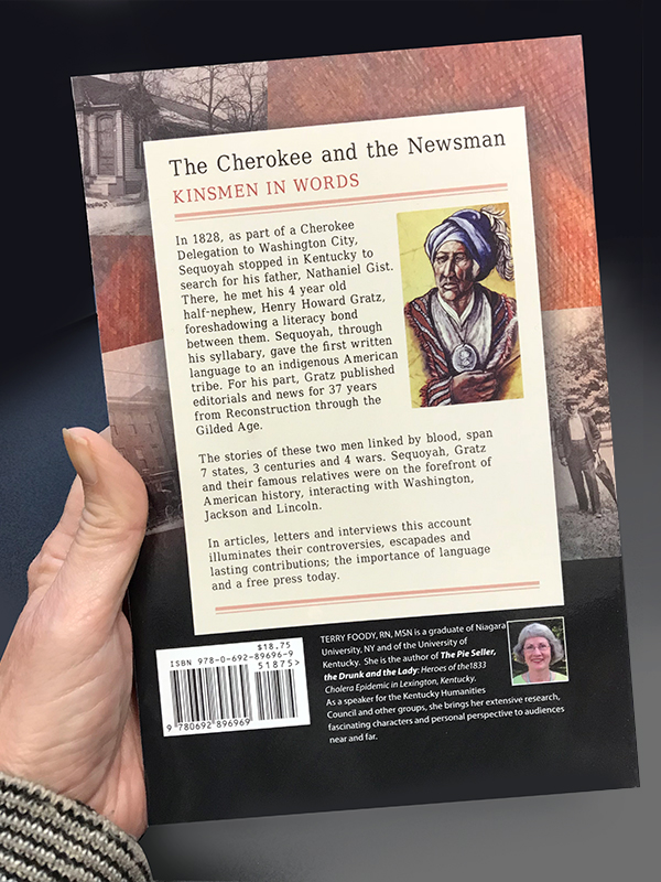 The Cherokee and the Newsman back cover