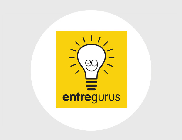 EntreGurus podcast logo design